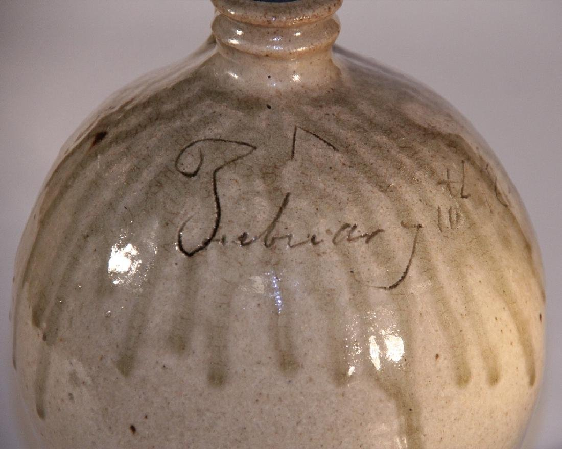 Exceptional Early Dated Southern Stoneware Jug - 4