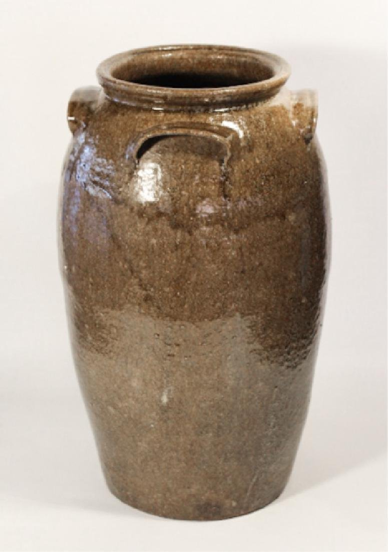 Monumental Southern Stoneware Storage Jar