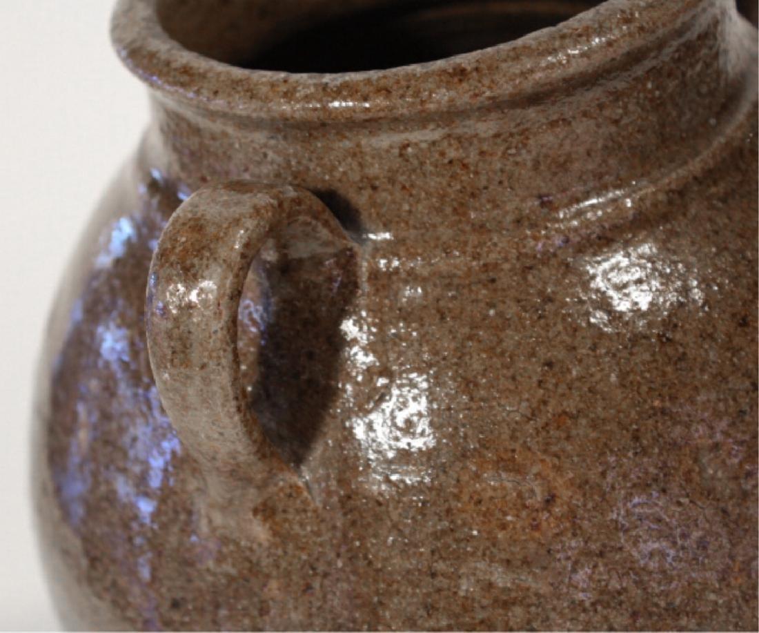 Early Southern Stoneware Stew Pot - 2
