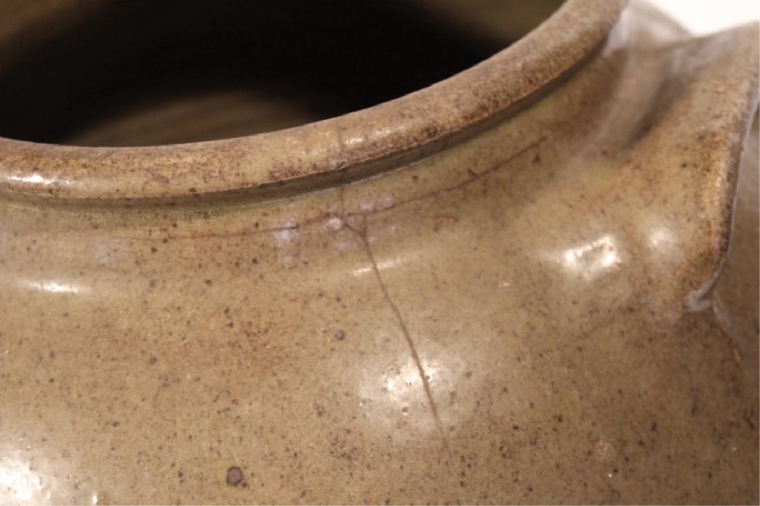 Early Southern Stoneware Storage Jar - 3