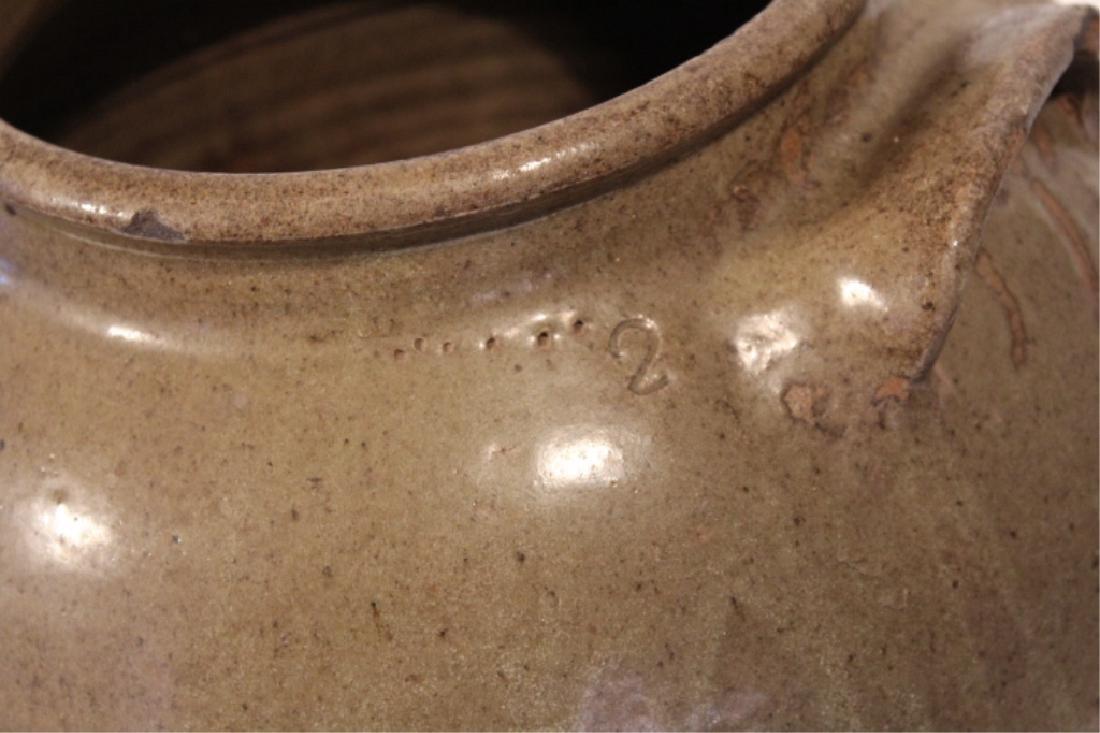 Early Southern Stoneware Storage Jar - 5