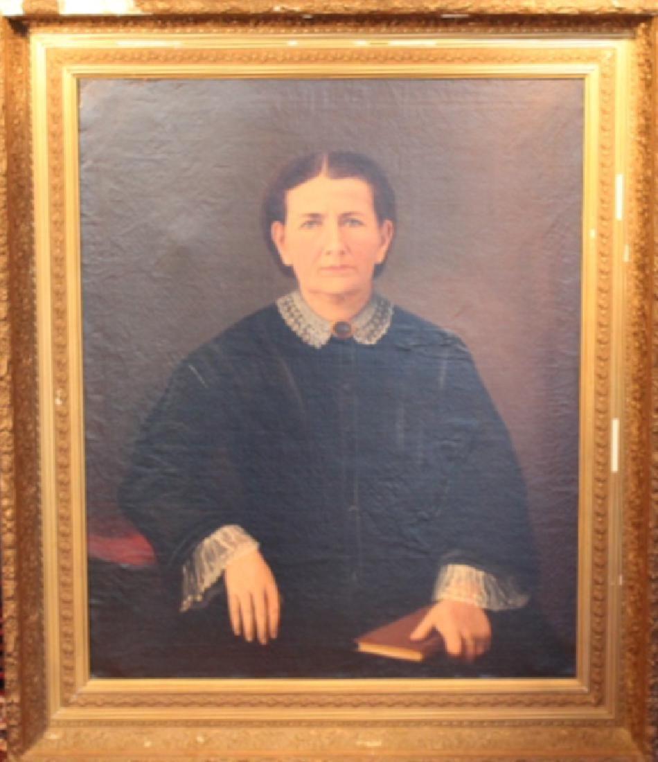 Portrait Attributed William Harrison Scarborough