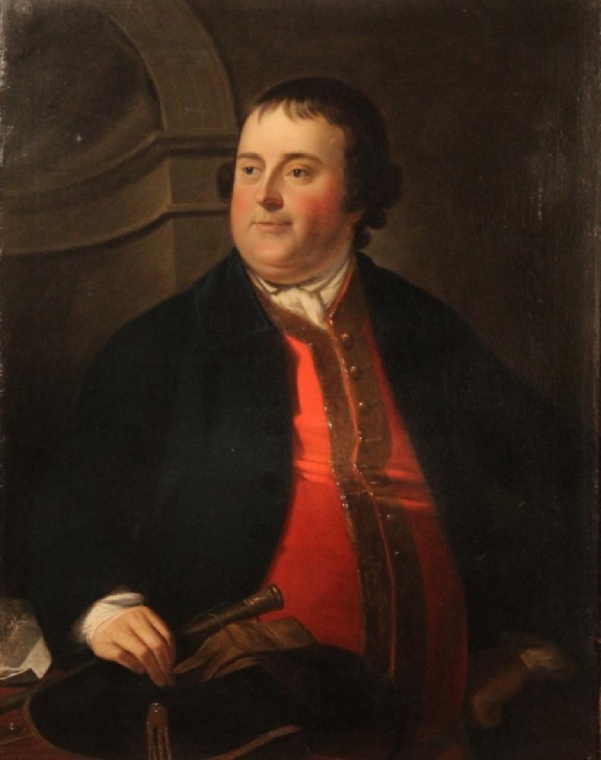 American or British School Portrait