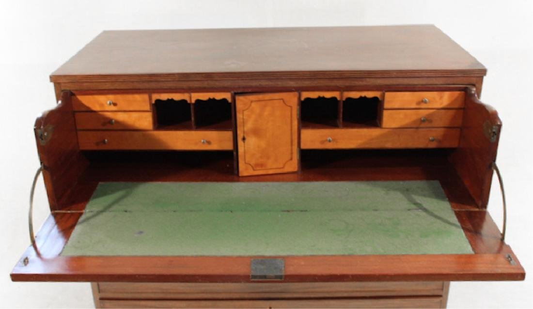 American Federal Mahogany Butlers Desk - 2