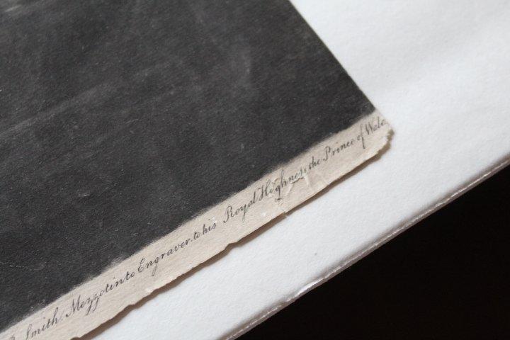 18th Century Mezzotint of Slave Trade - 7