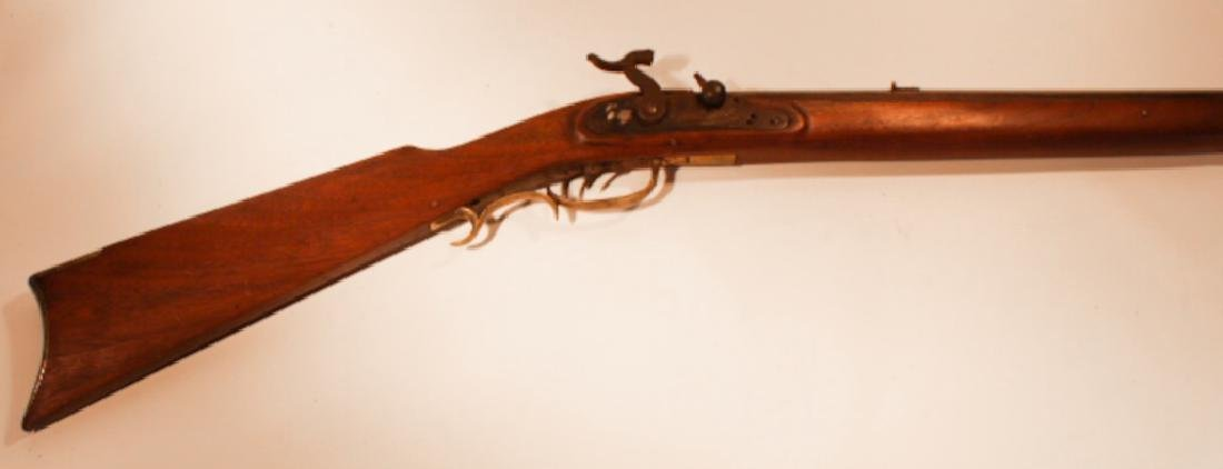 Antique Percussion Long Rifle