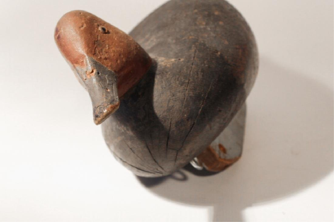 American Carved & Painted Redhead Duck Decoy - 2