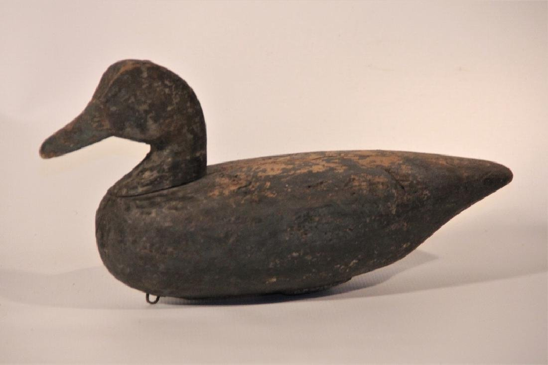 North Carolina Carved & Painted Redhead Duck Decoy
