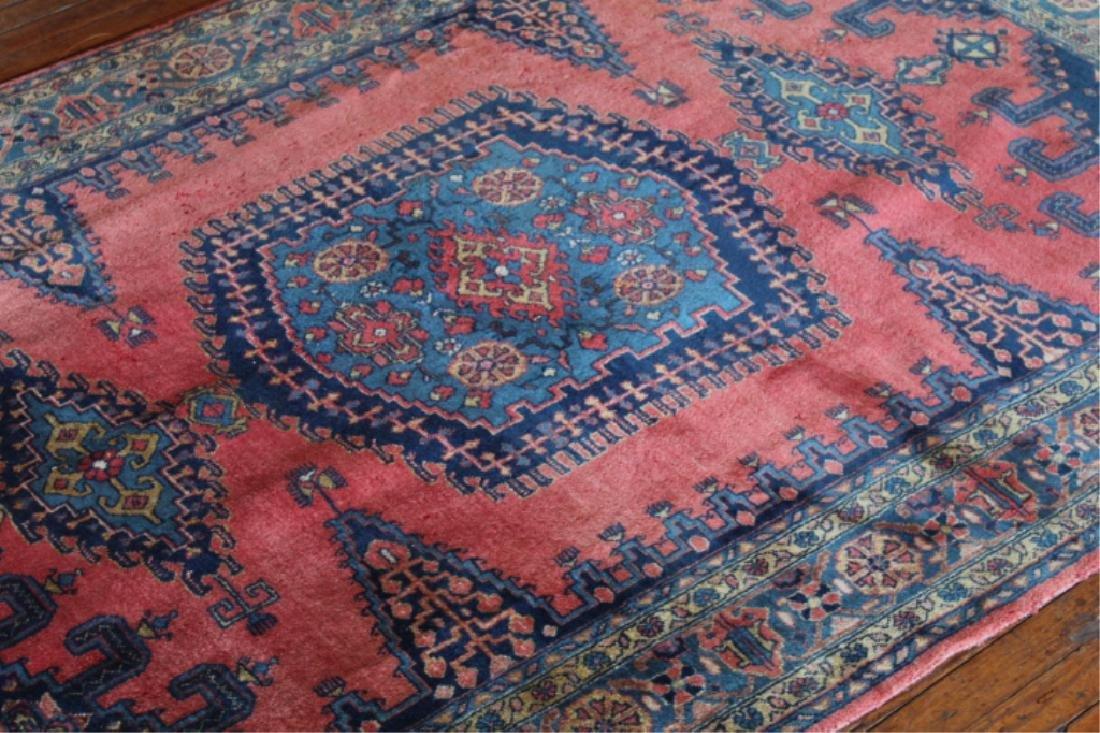 Vintage Persian Tribal Carpet - 4