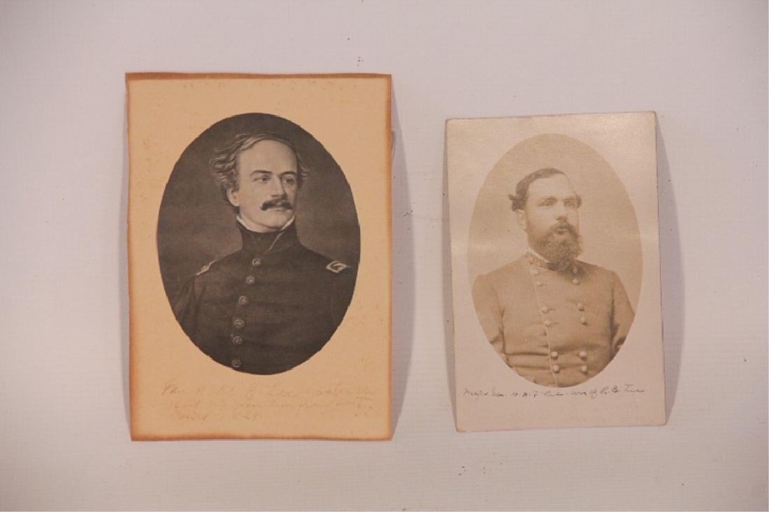 Two Antique Photographs, George S. Cook