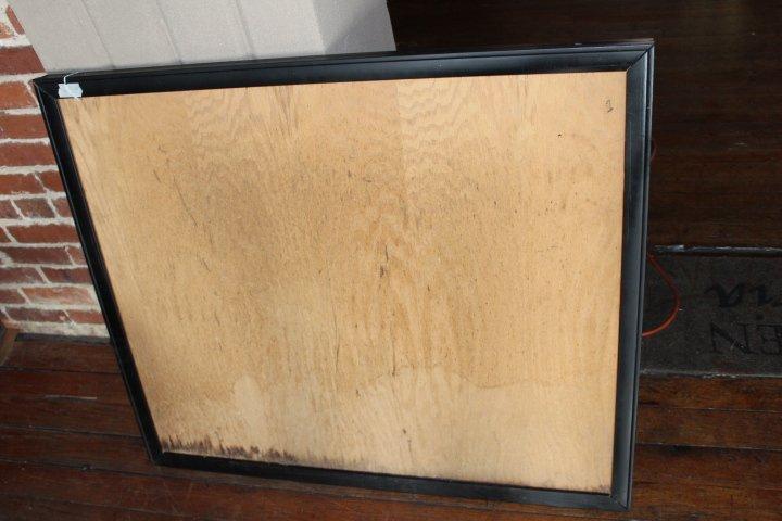 Vintage Painted Fox Hunt Fire Back or Tavern Sign - 4