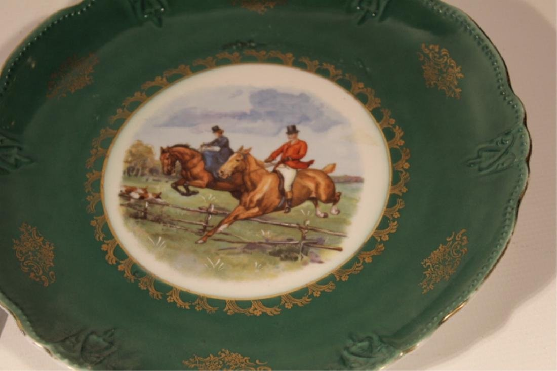 Collection Vintage Porcelain Sporting Dishes - 2