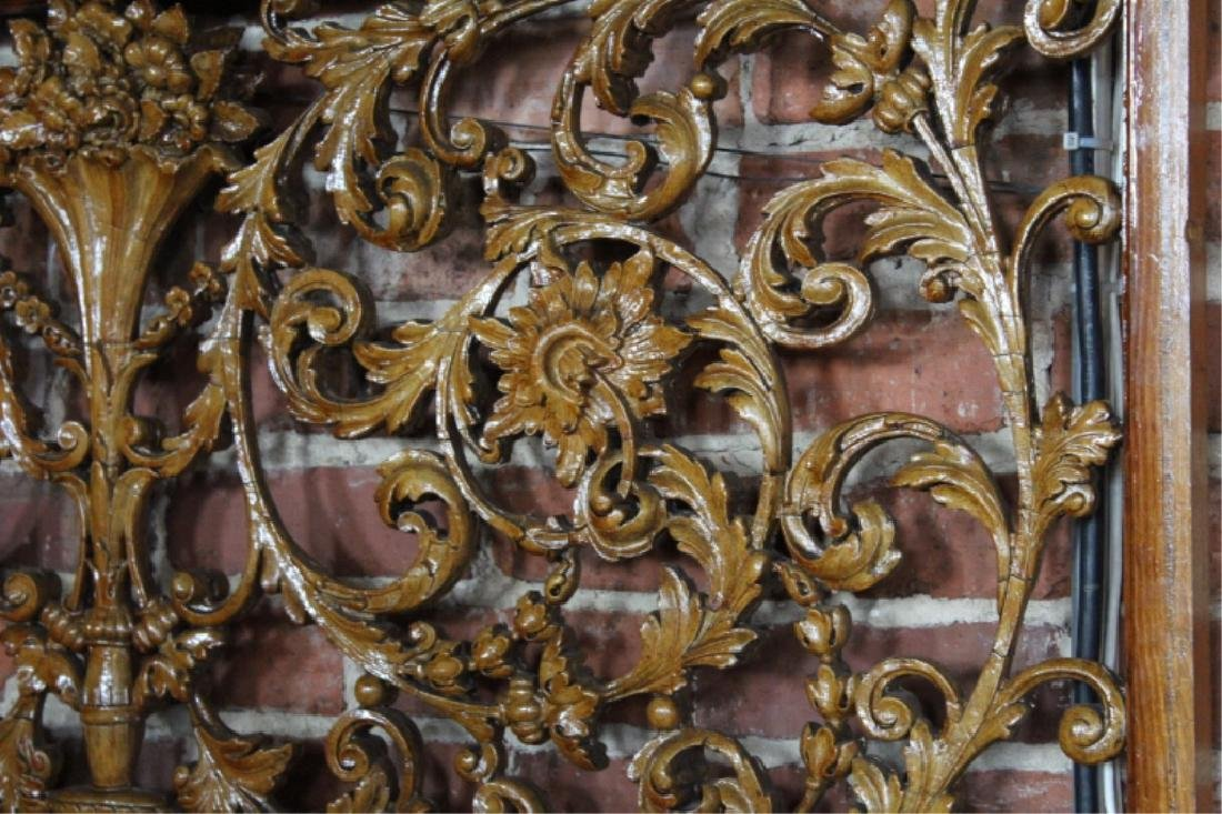 Carved Fruitwood Panels in the Adams Style - 4