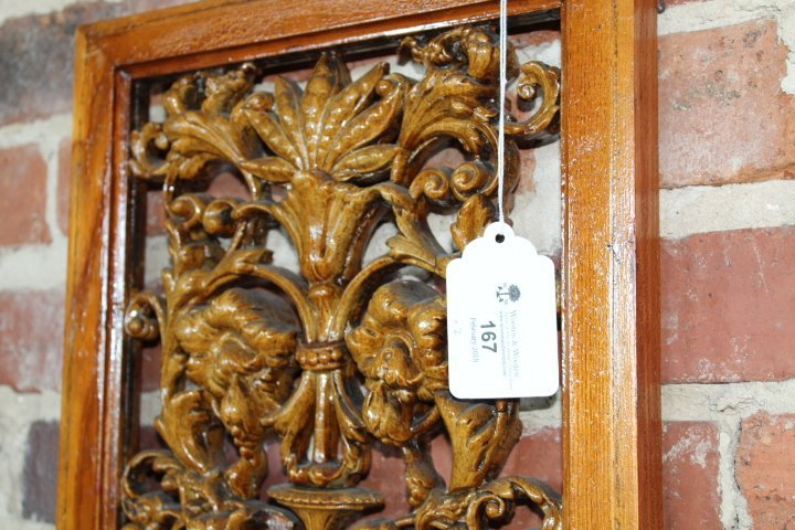Carved Fruitwood Panels in the Adams Style - 8