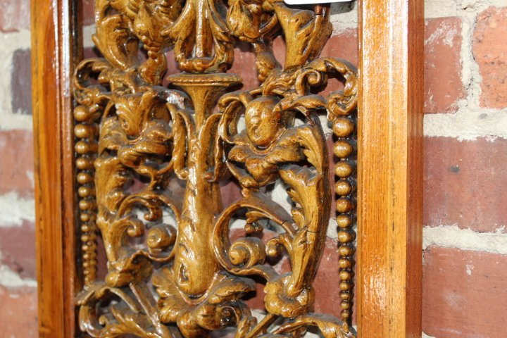 Carved Fruitwood Panels in the Adams Style - 9