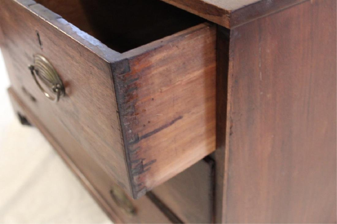 Interesting Federal Mahogany Low Chest - 2