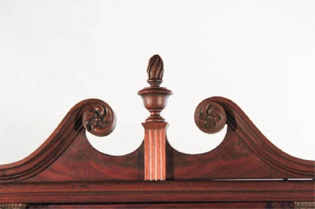 American Empire Mahogany Corner Cabinet - 4