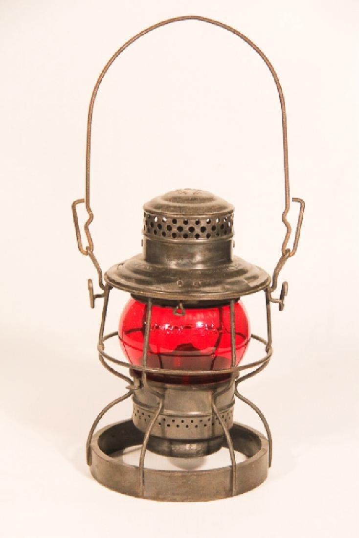 Quality Signed Vintage Railroad Lantern