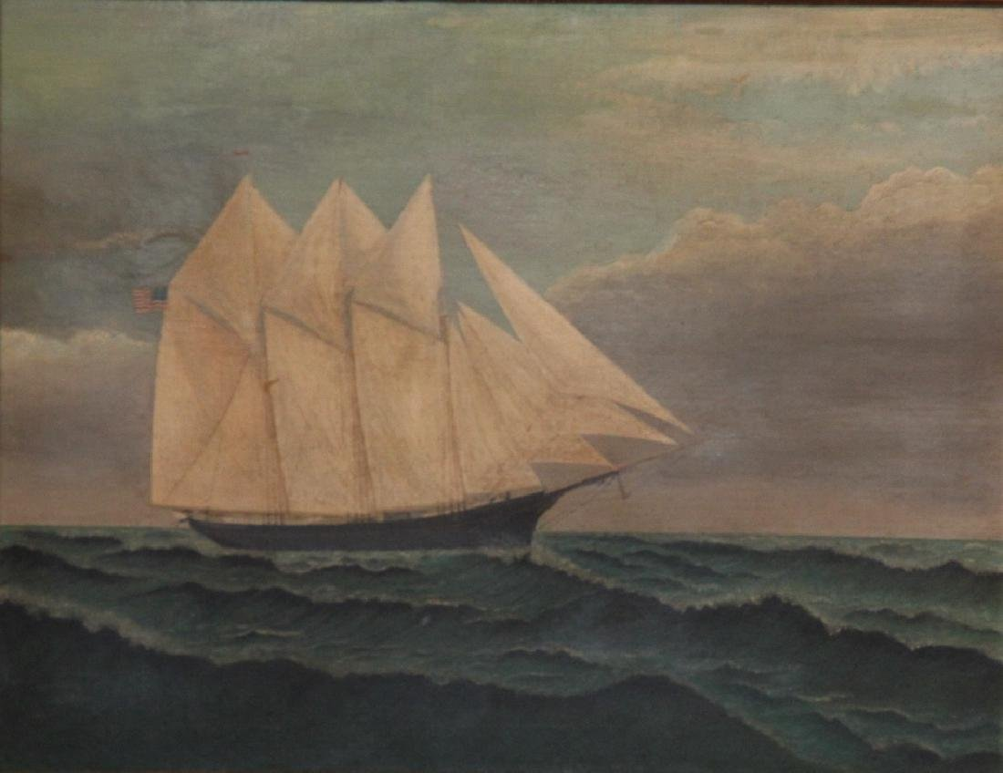 American School Ship Portrait