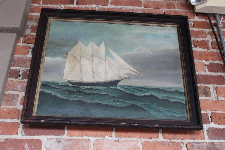 American School Ship Portrait - 2