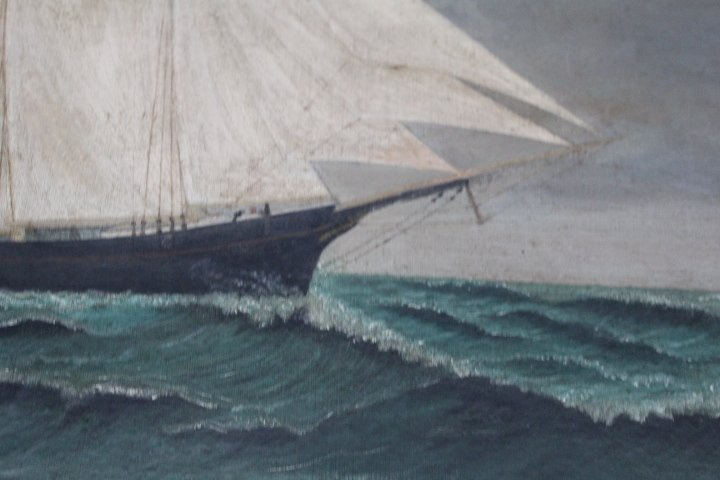 American School Ship Portrait - 5