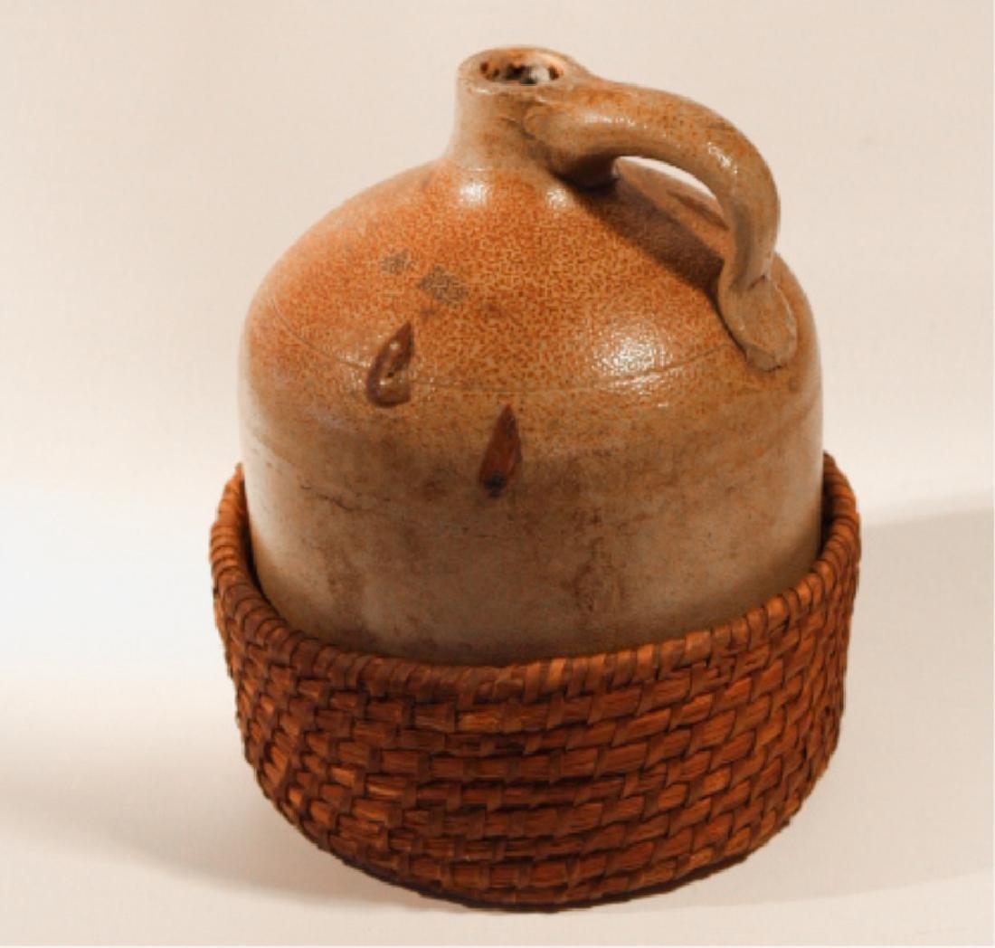 Interesting Southern Stoneware Jug