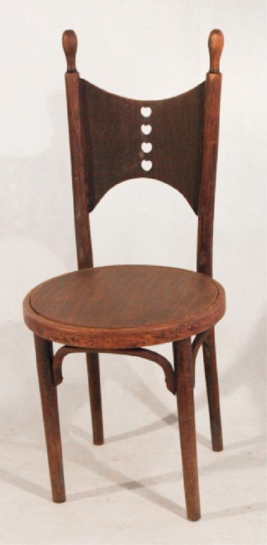Arts & Crafts Turned Wood Parlor Side Chair