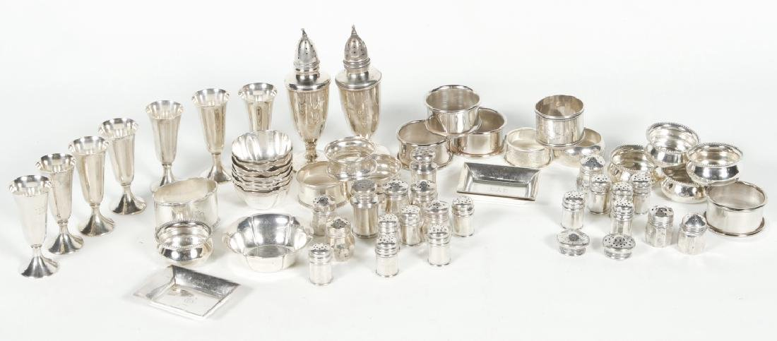 Assorted Collection Sterling Silver Table Articles