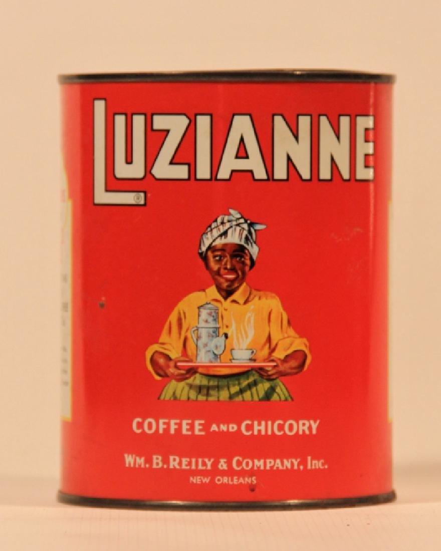 Vintage Advertising Coffee Metal Canister