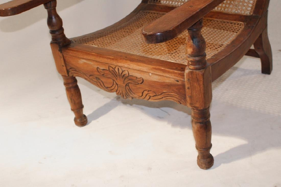 Antique Plantation or Planters Chair - 2