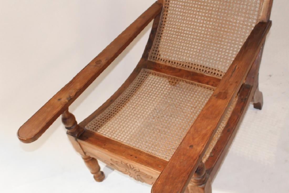 Antique Plantation or Planters Chair - 4
