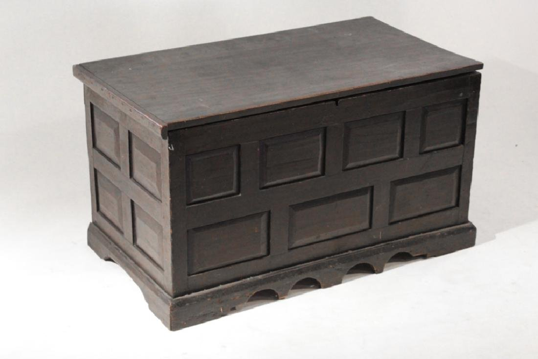 Southern Country Federal Poplar Blanket Chest