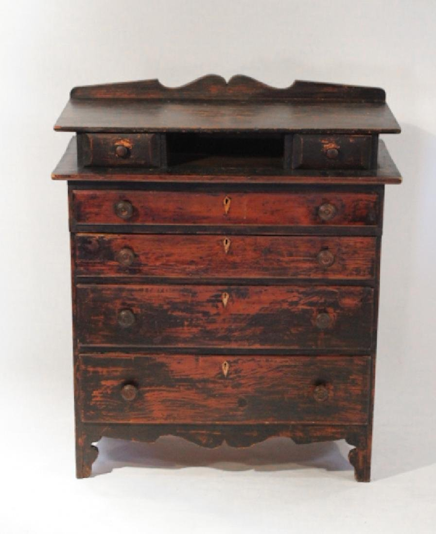 Early Southern Piedmont Chest of Drawers