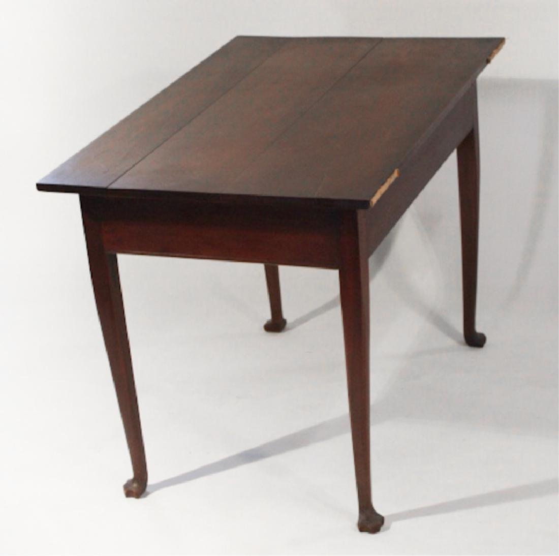Southern Walnut Queen Anne Work or Side Table