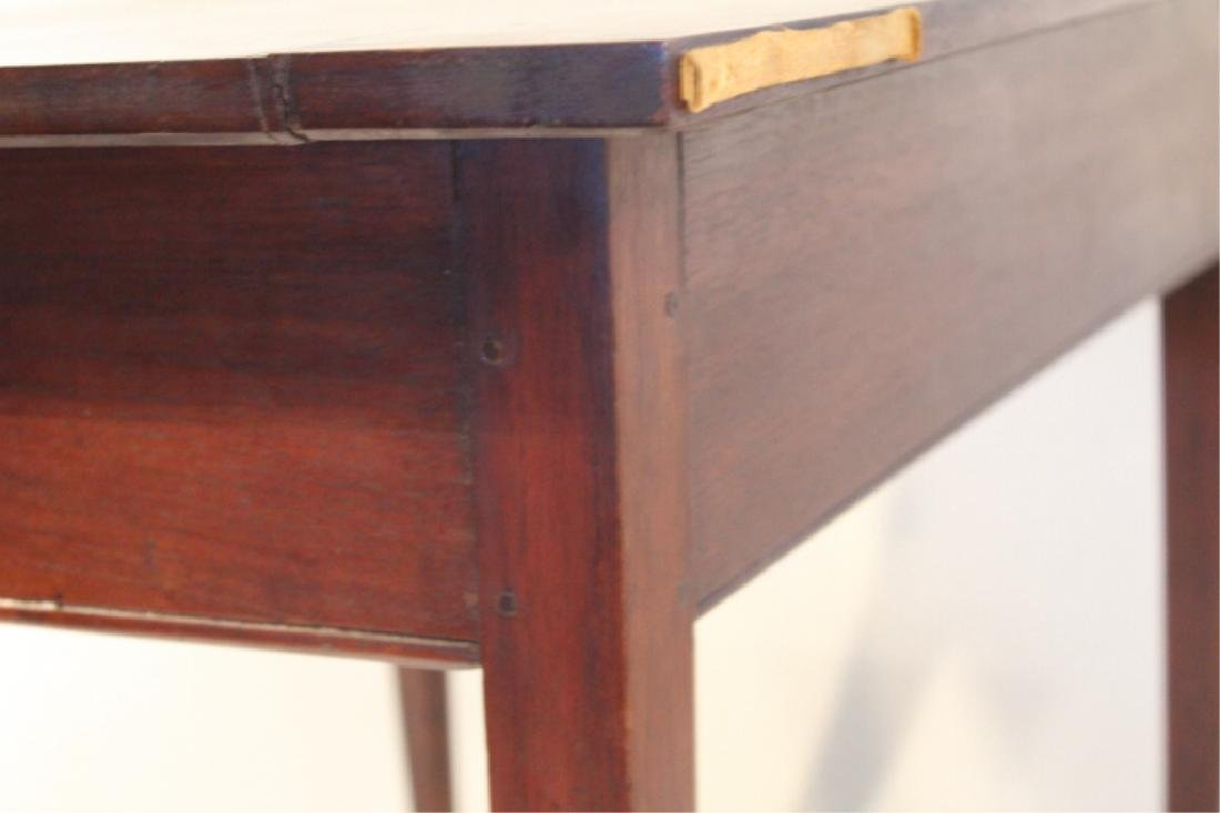 Southern Walnut Queen Anne Work or Side Table - 4