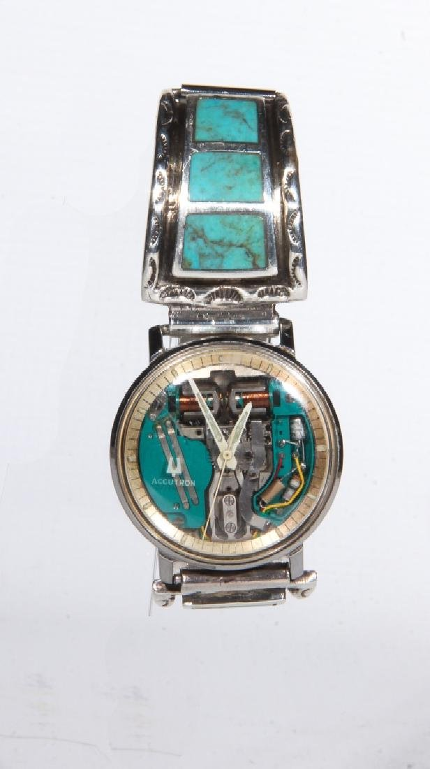 Vintage Bulova Accutron Space Watch