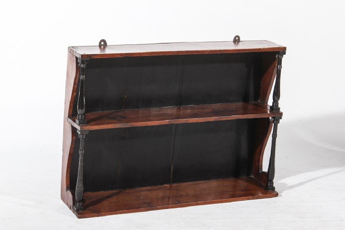 American Federal Cherry Wall Shelf