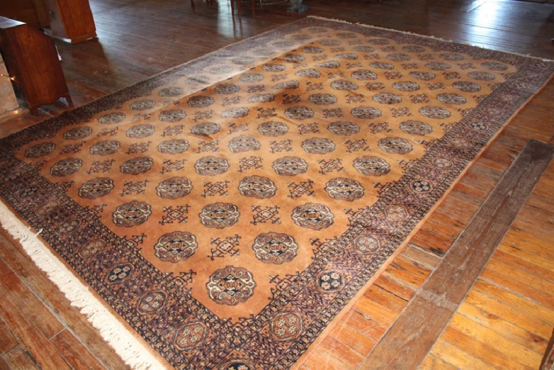 Vintage Persian Bokhara Rug