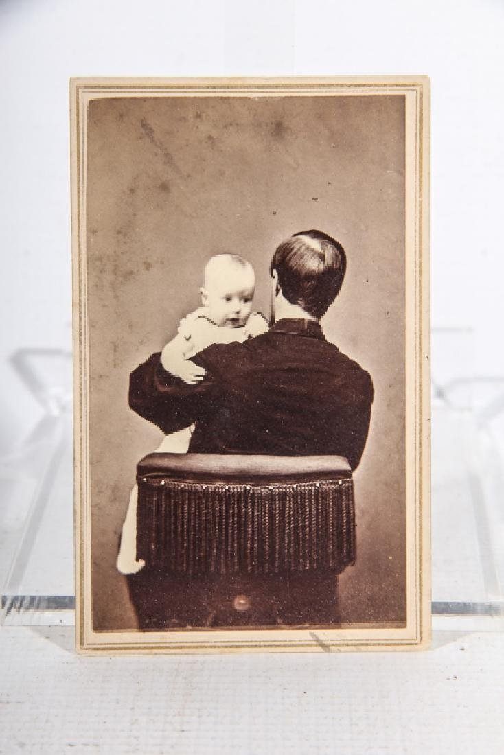 Antique Southern Photograph of Child & Father