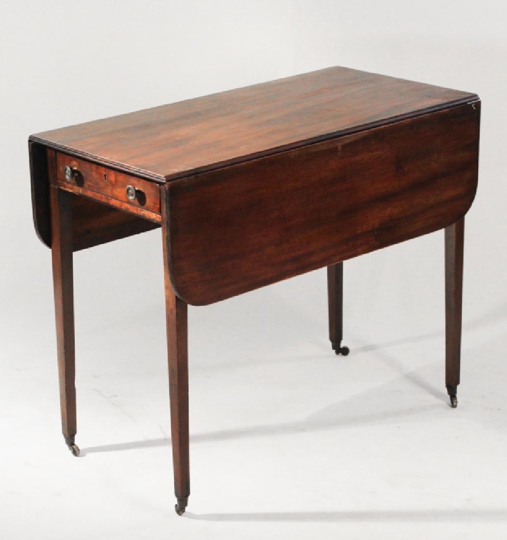 British George III Mahogany Pembroke Table