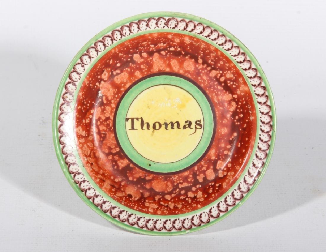 Antique British Pearlware Dish