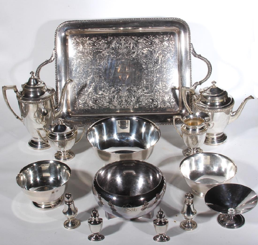 Collection Vintage SilverPlate & Sterling Articles