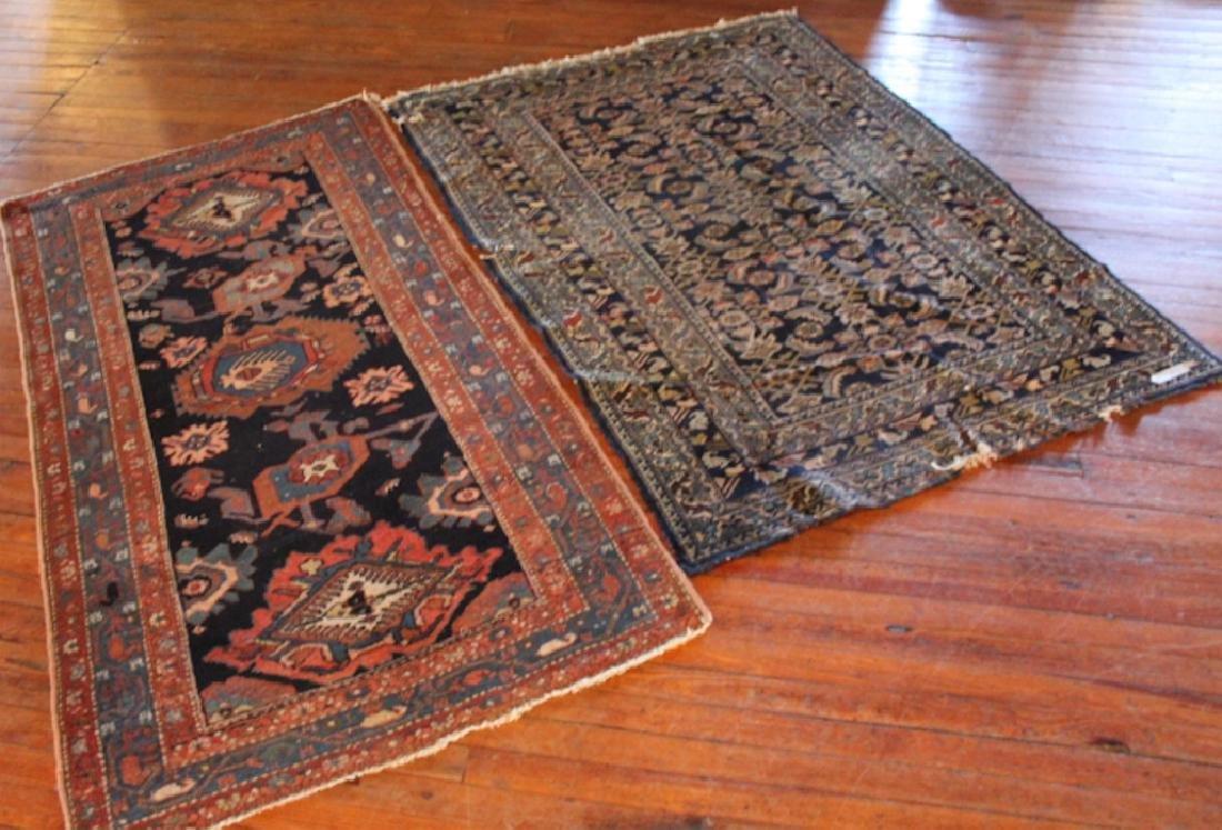 Two Antique Caucasian Rugs