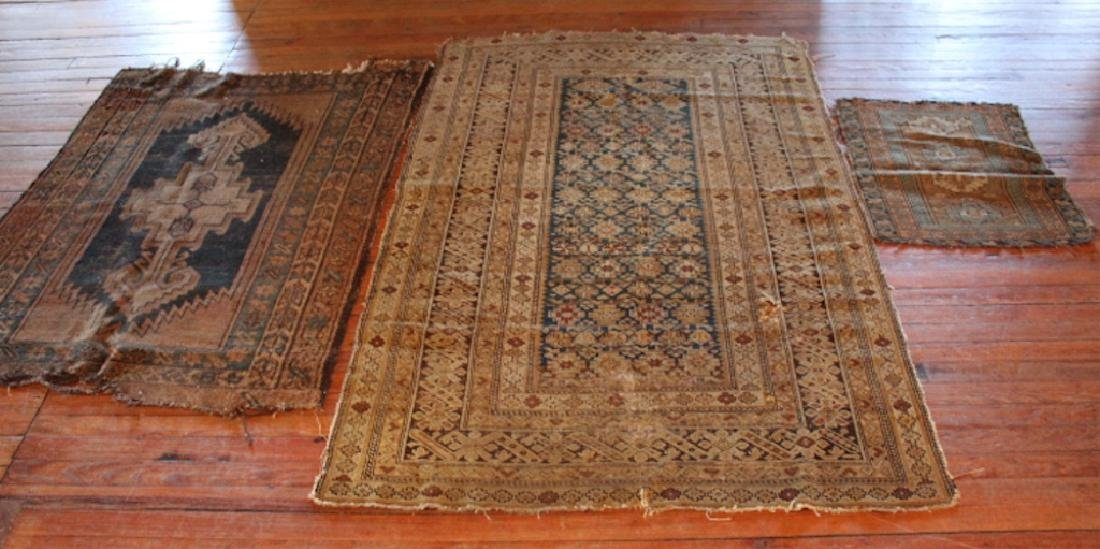 Group Three Antique Persian Carpets