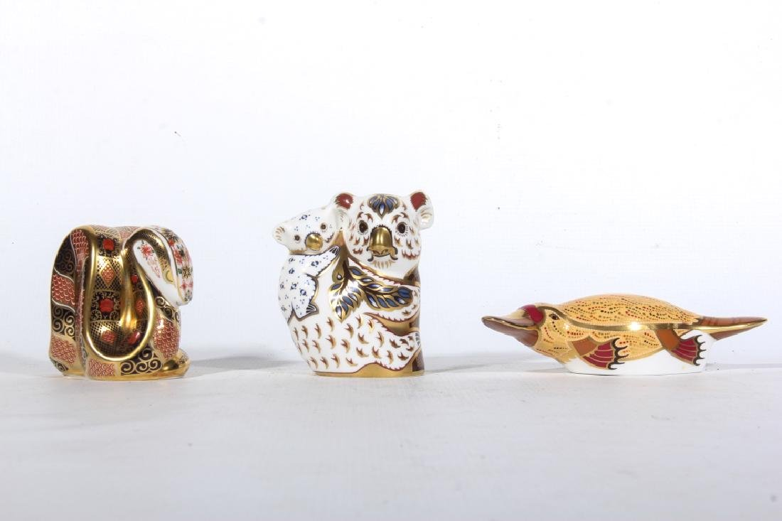 Royal Crown Derby Figural Porcelain Animals