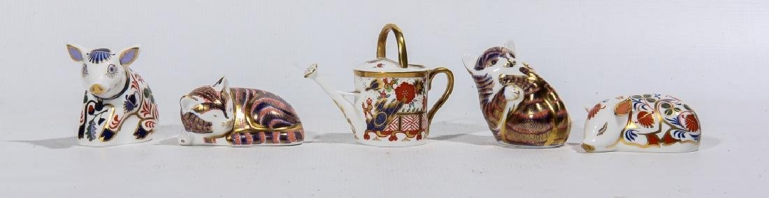 Royal Crown Derby Animals & Watering Can