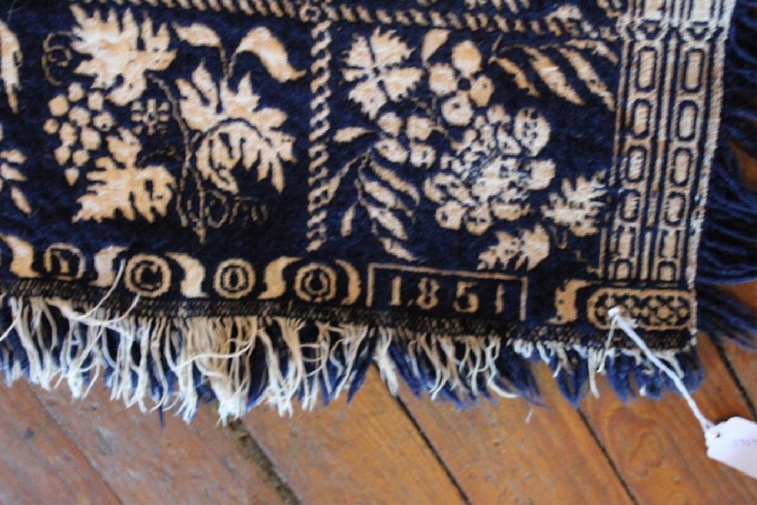 Very Fine Southern Coverlet or Throw Quilt - 2