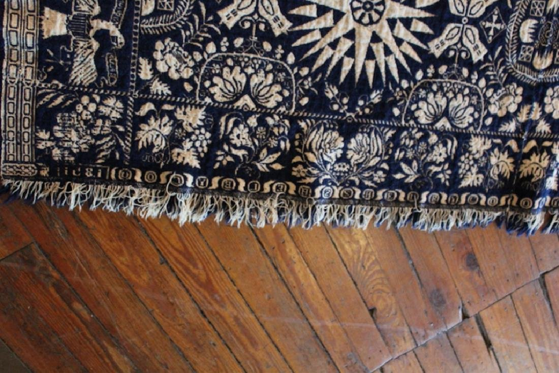 Very Fine Southern Coverlet or Throw Quilt - 5