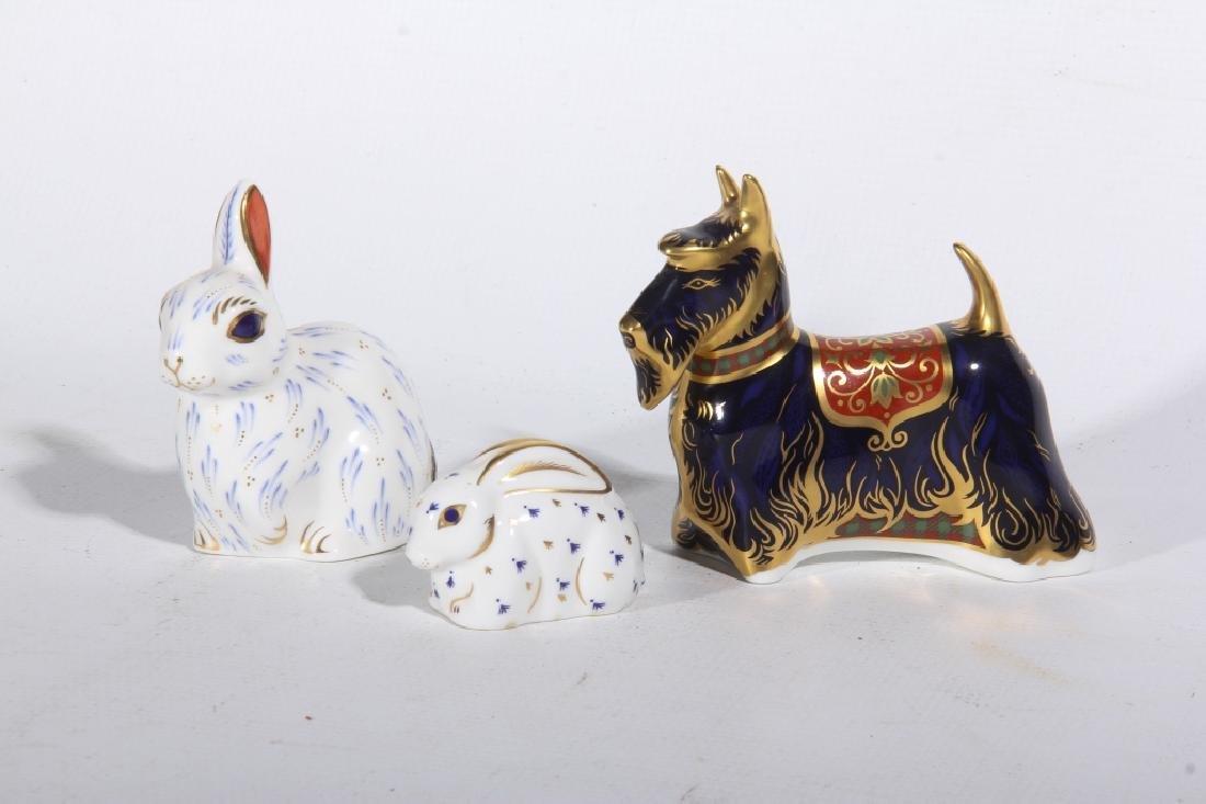 Royal Crown Derby Old Imari Porcelain Animals