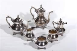 Gorham Silver Plate Tea & Coffee Service
